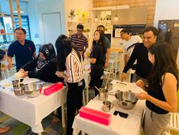 Team bonding workshop of NTUC Learning Hub