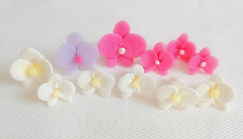Tutorial for making flower confetti (Orchid)