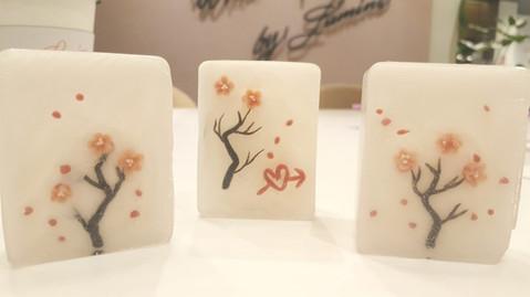Students' art work - LNY Art Soap Crafting Workshop @Lumine Singapore