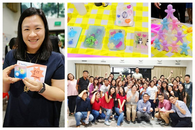 Corporate team building/bonding workshop with fun and creative soap making activities