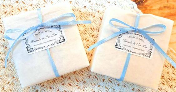 Lavender & Tea Tree Soap - cold process hadnmade soap