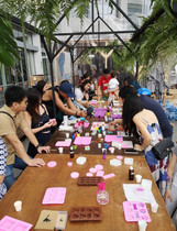 Soap making workshop for private event
