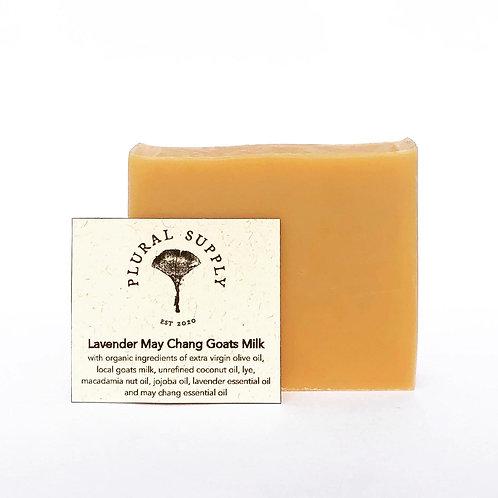 Lavender May Chang Goats Milk Soap