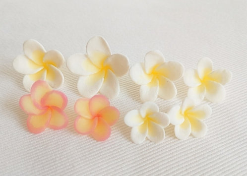Tutorial for making flower confetti (Frangipani)