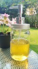 All-purpose liquid castile soap handmade with cold process method