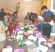 Soap Making Workshop for Birthday Party