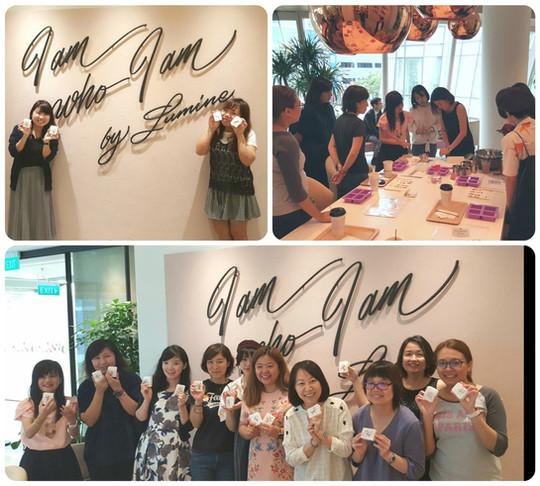 LNY Art Soap Crafting Workshop @Lumine Singapore