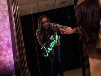 Goldline Mirror Photo Booth