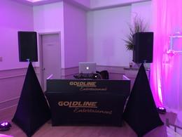 Goldline Entertainment - Setup - Booth - DJ - Disc Jockey