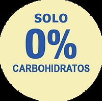 cero carbohidratos