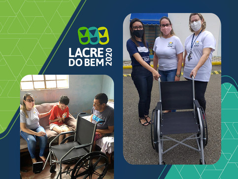 Sicoob UniMais Mantiqueira entrega a 4 cadeira da Campanha Lacre do Bem