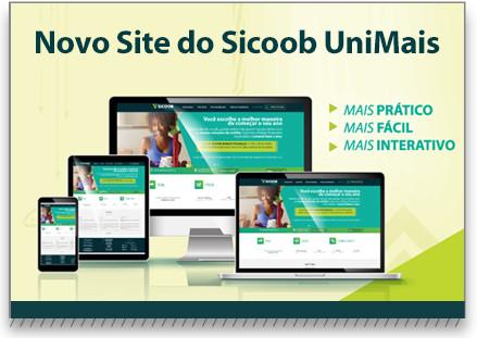 Já está no ar o novo site Sicoob UniMais