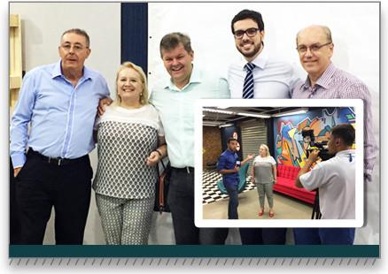 Cooperativa Rio Claro marcou presença no lançamento da programação 2017 da TV Claret