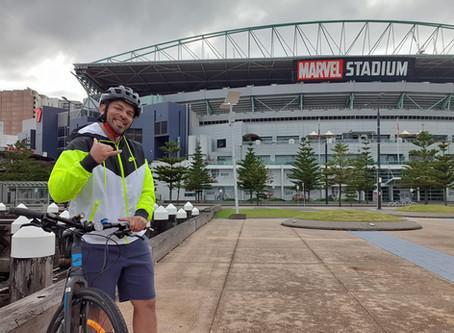 Steve Lobo :  Ride my bike