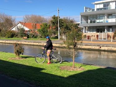 Ricki Shenker:  Do a 10km bike ride in Melbourne
