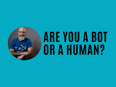 Are you a bot or a human?
