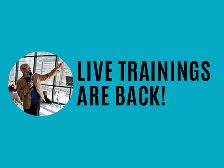 Live Trainings are Back!