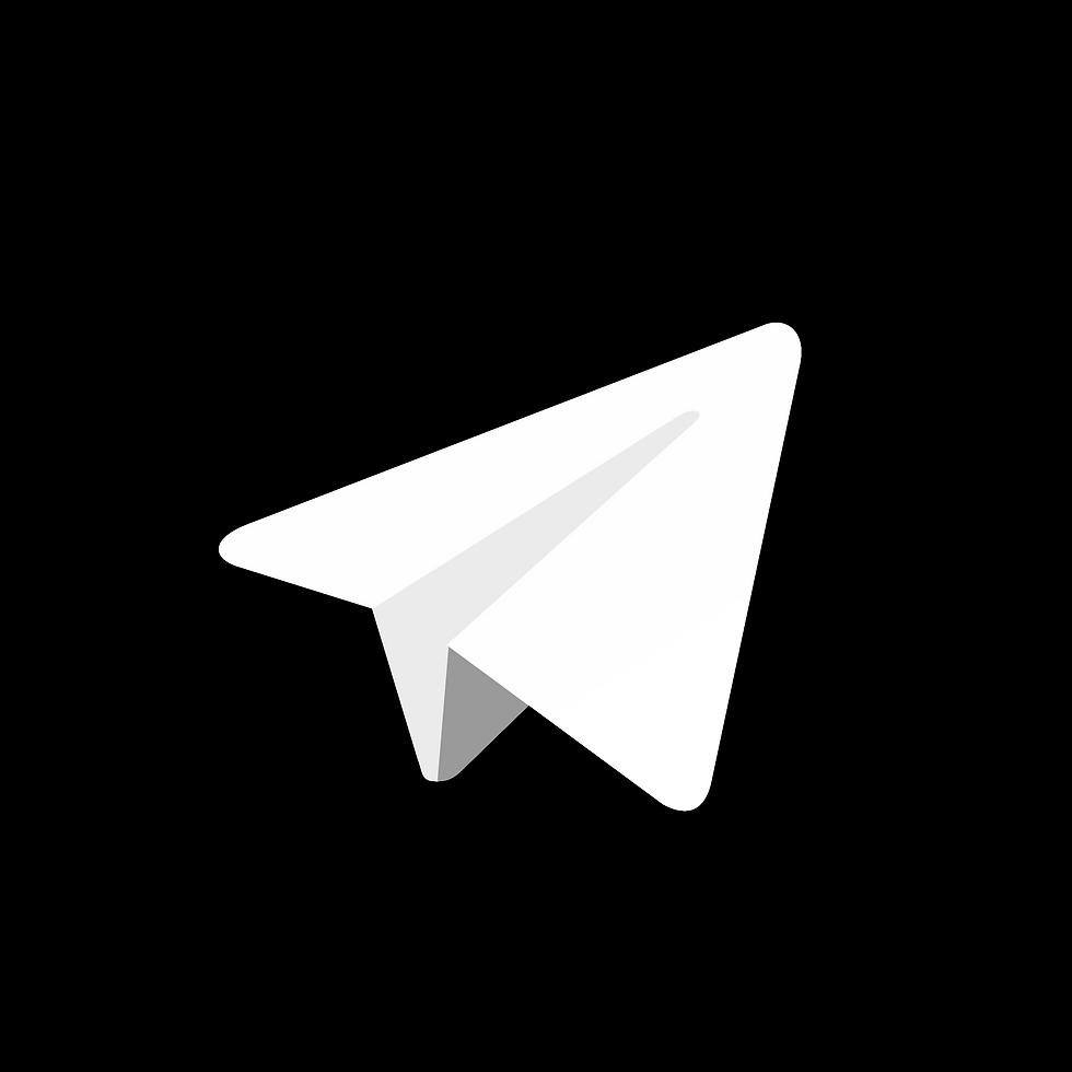 telegram-logo-black-and-white
