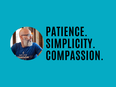 Patience, simplicity, compassion and the Tao of branding and sales