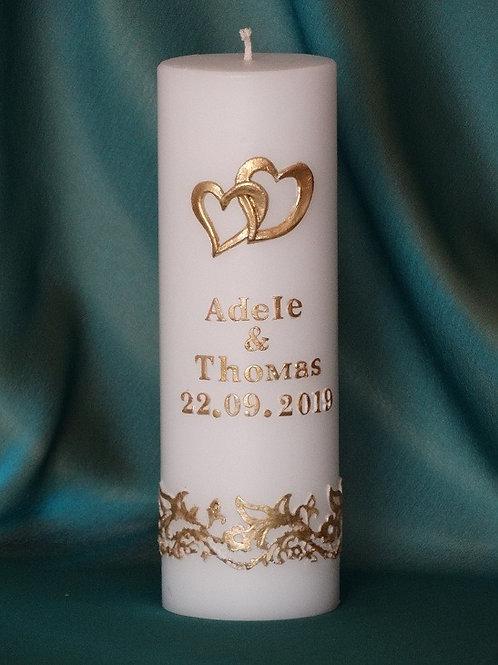 Свещ за масата на младоженците модел 125