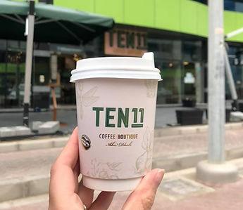 Ten11 Cafe Abu Dhabi coffee takeaway