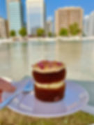 Espresso Lab Abu Dhabi carrot cake