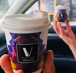 Volta Coffee Abu Dhabi takeaway coffee