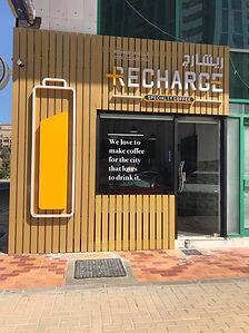 Recharge cafe Abu Dhabi