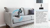 Беспроводной аккумуляторный пылесос PRO-EXPERT V8 щетка для уборки текстиля.png