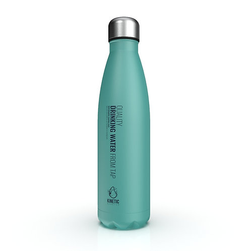 LIGHT WEIGHT Thermal Bottle - stainless steel (chemically 100% inert)