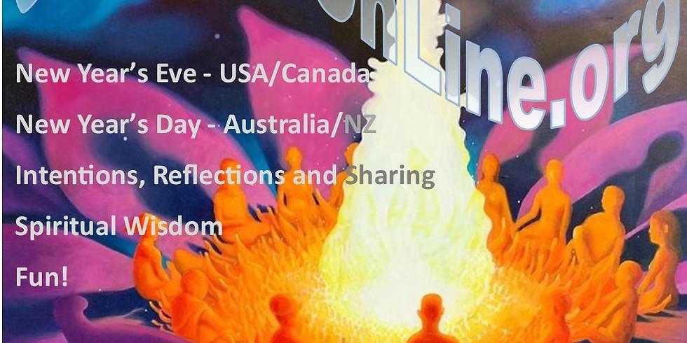 New Year's Resolution, Sharing and Social Fun - Interactive