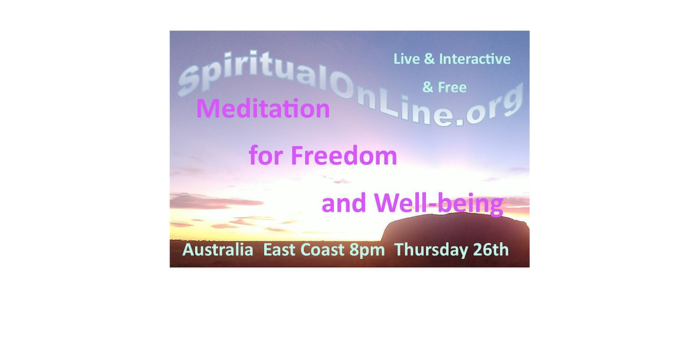 Guided Meditation for Freedom and Well-being - LOCKDOWN SPECIAL