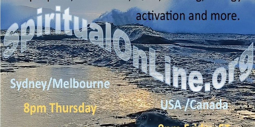 Polarity Therapy Workshop Part 3 - Friday Night US/Canada