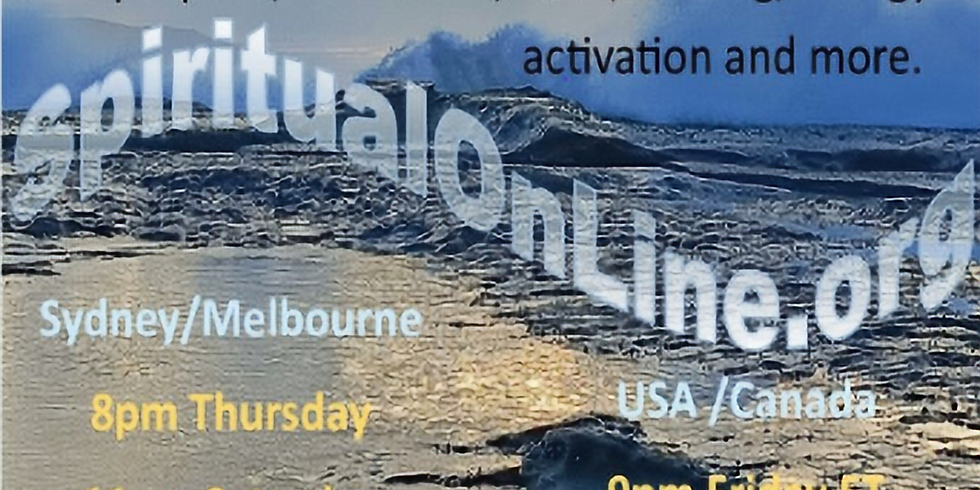 Spiritual Guided Meditation & Intuition - Interactive - Friday Night US/Canada