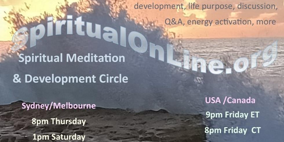 Spiritual Guided Meditation, Sharing and Inner Development - Interactive (1)