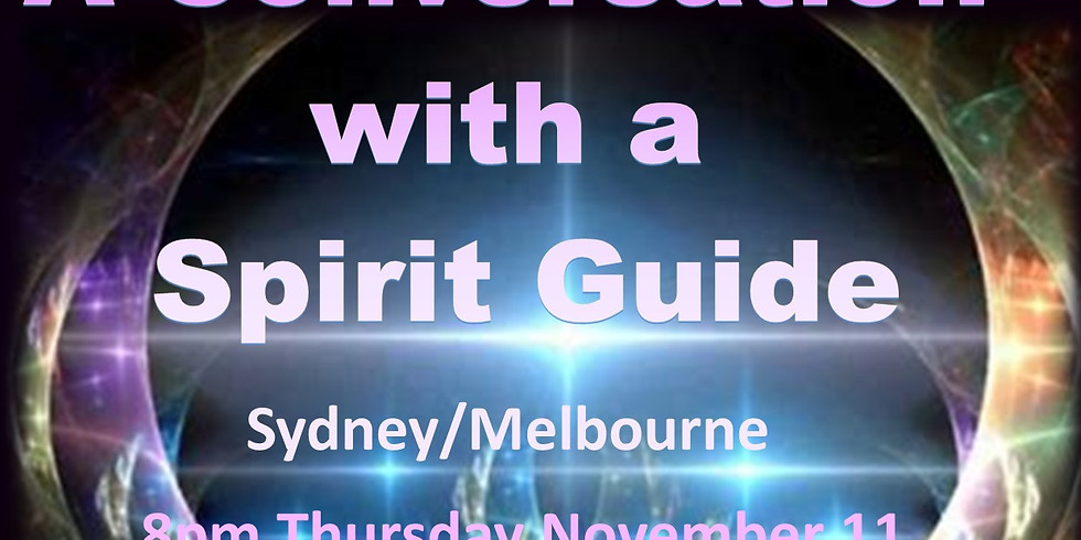 A Conversation With a Spirit Guide