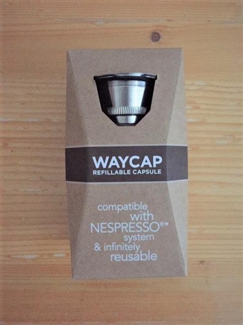 Hervulbare koffie capsule