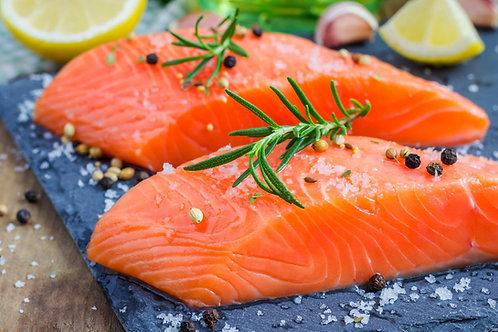 Norwegian Salmon Portion - Frozen