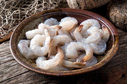 Raw Shrimp Meat with Tail-On