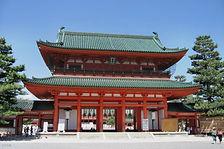 京都 平安神宮 大鳥居