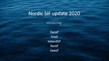 Felles presentasjon av de nordiske SIF'ene
