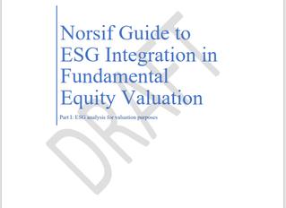 Norsif inviterer til webinar om Norsifs Guide to ESG Integration in Fundamental Equity Valuation