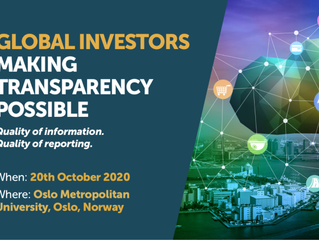 The conference on tax and reporting 20 October 2020