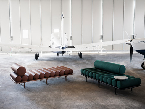 Studio Pepe designs the Five to Nine Daybed for Tacchini