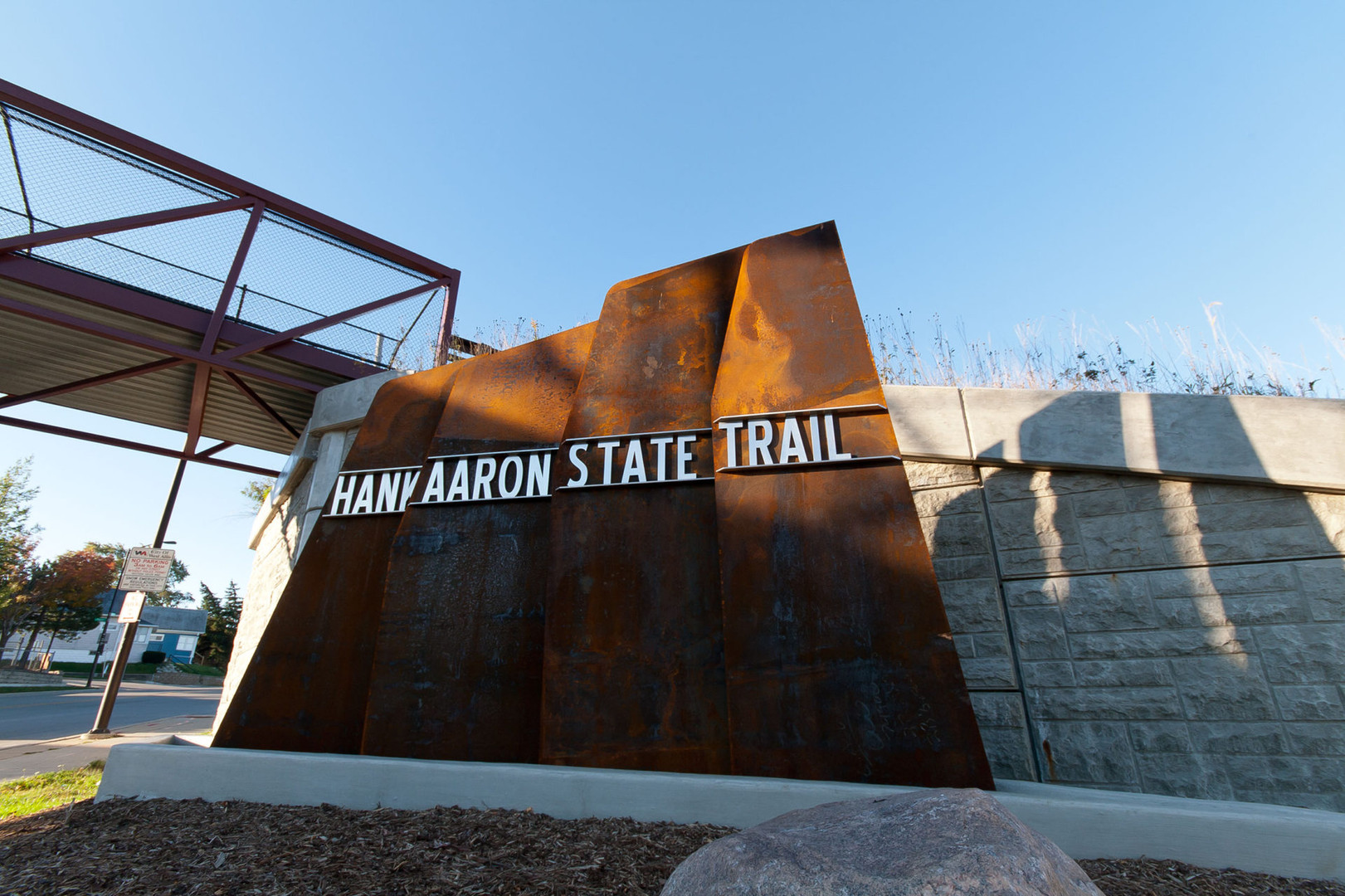 Hank Aaron State Trail Monument