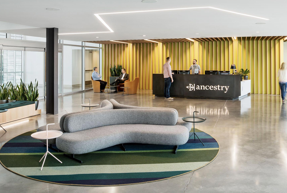 Tacchini selected for Ancestry headquarters