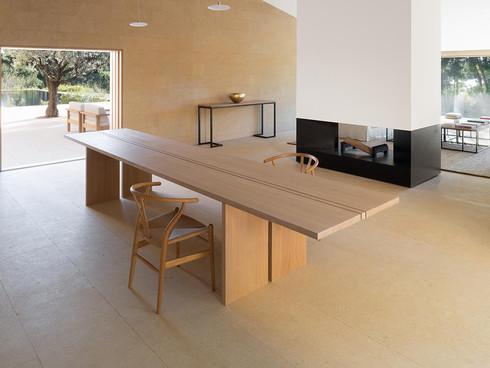 Benchmark Pawson St Tropez Bespoke Oak Table