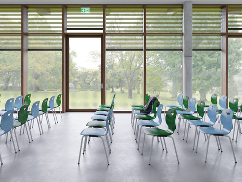 Jumper Chair by Jean Nouvel for V/S higher-ed