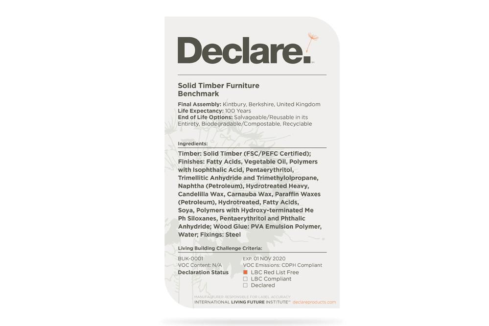 Declare.