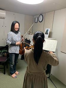 ヴァイオリン体験